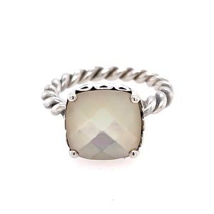 Pre❤️ Pandora Mother Of Pearl Silver Ring